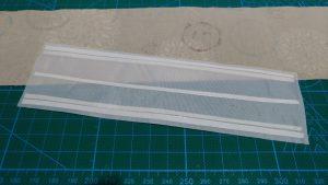 伸び防止用の布