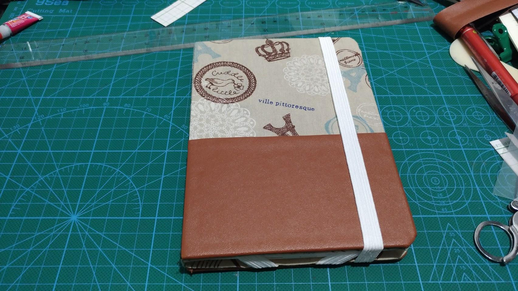 自作したKindleの手帳型カバー